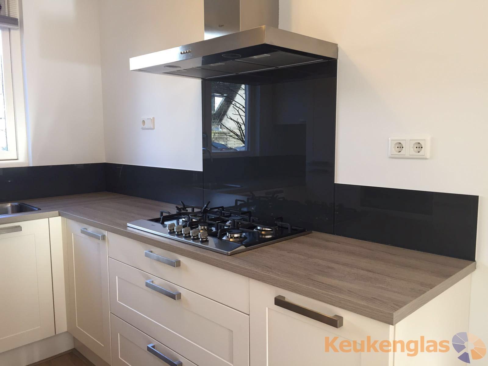 zwarte keuken achterwand arnhem