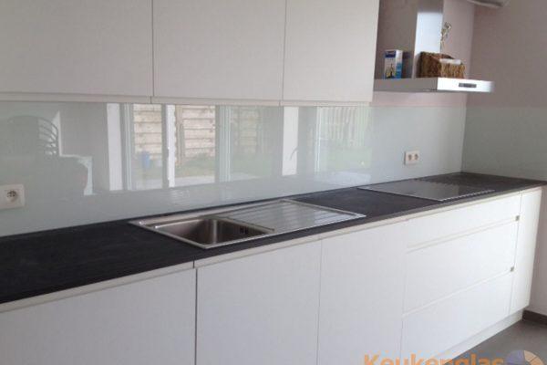 Witte keuken achterwand Zelzate